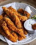New Mexico Fried Pepper Strips with Buttermilk Dipping Sauce picture