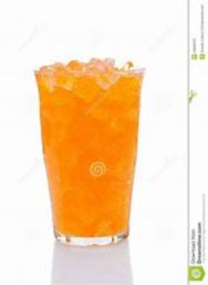 Make your own orange pop picture