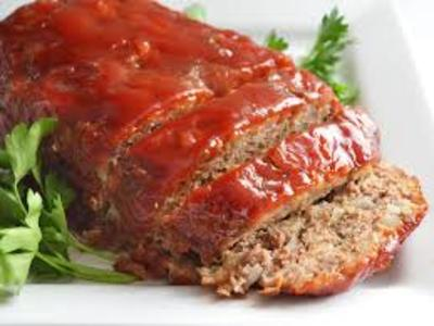 Sean's favorite meatloaf.  picture