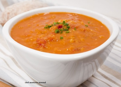 Red Lentil Soup Egypt      picture