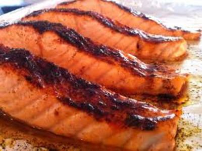 Glazed Salmon picture