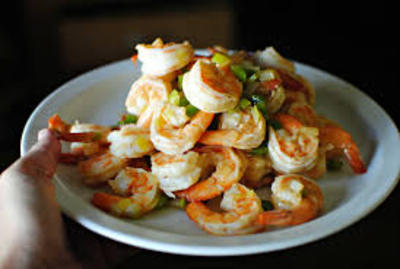 Southwestern-Style Shrimp Taco Salad picture