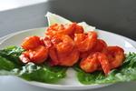Sriracha, Tomato, and Honey Shrimp- chef montaser masoud picture