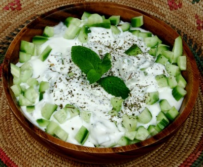 Cucumber And Yogurt Salad picture