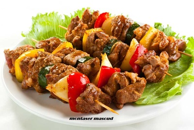 asian beef kabobs picture