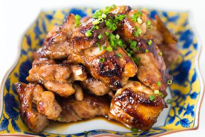 Honey Mint Glazed Chicken picture
