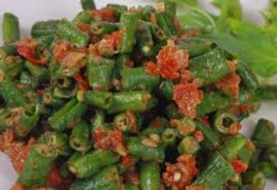capcay beans (capcay kacang panjang )   picture