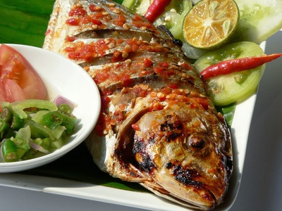 Ikan Bakar (Barbecue Fish) picture