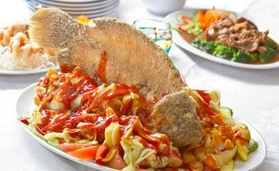 fish seasoning salad [ ikan bumbu rujak ] picture