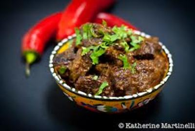 Beef rendang picture