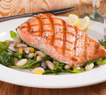 Salmon & White Bean Salad picture