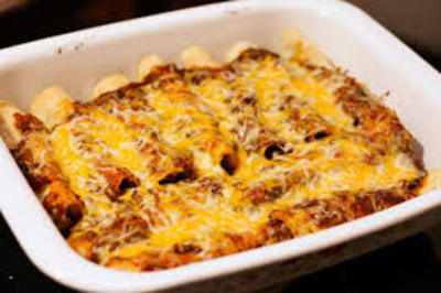 Beef Enchilada Bake picture