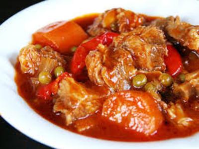 Beef Caldereta (Filipino Beef Stew) picture
