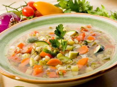 Vegetable Risotto Soup picture