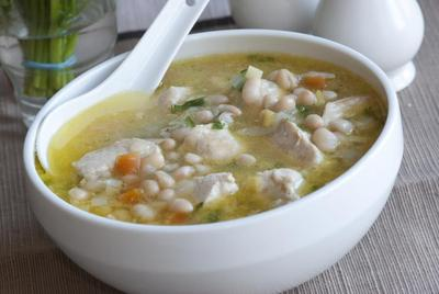 Chicken Soup With Bean Sprouts picture