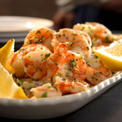 lemon-garlic marinated shrimp picture