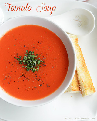 how to make tomato soup  picture