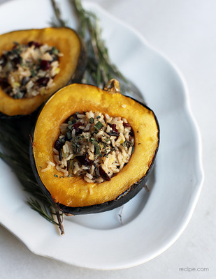 Wild Rice-Stuffed Squash picture
