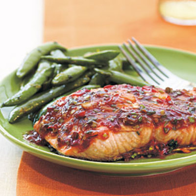 Chili-Garlic Glazed Salmon picture