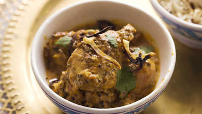 Sweet chicken curry picture