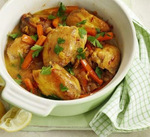 Moroccan chicken one-pot picture