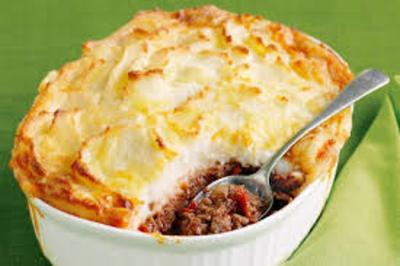 Quick cottage pie picture