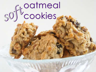 Soft Oatmeal Cookies picture