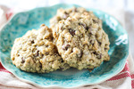 CHOCOLATE CHIP AND WALNUT OATMEAL COOKIES picture