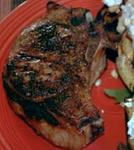 Grill Pork Chop with Herbs picture