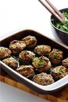 Stuff mushroom with sausage.. picture